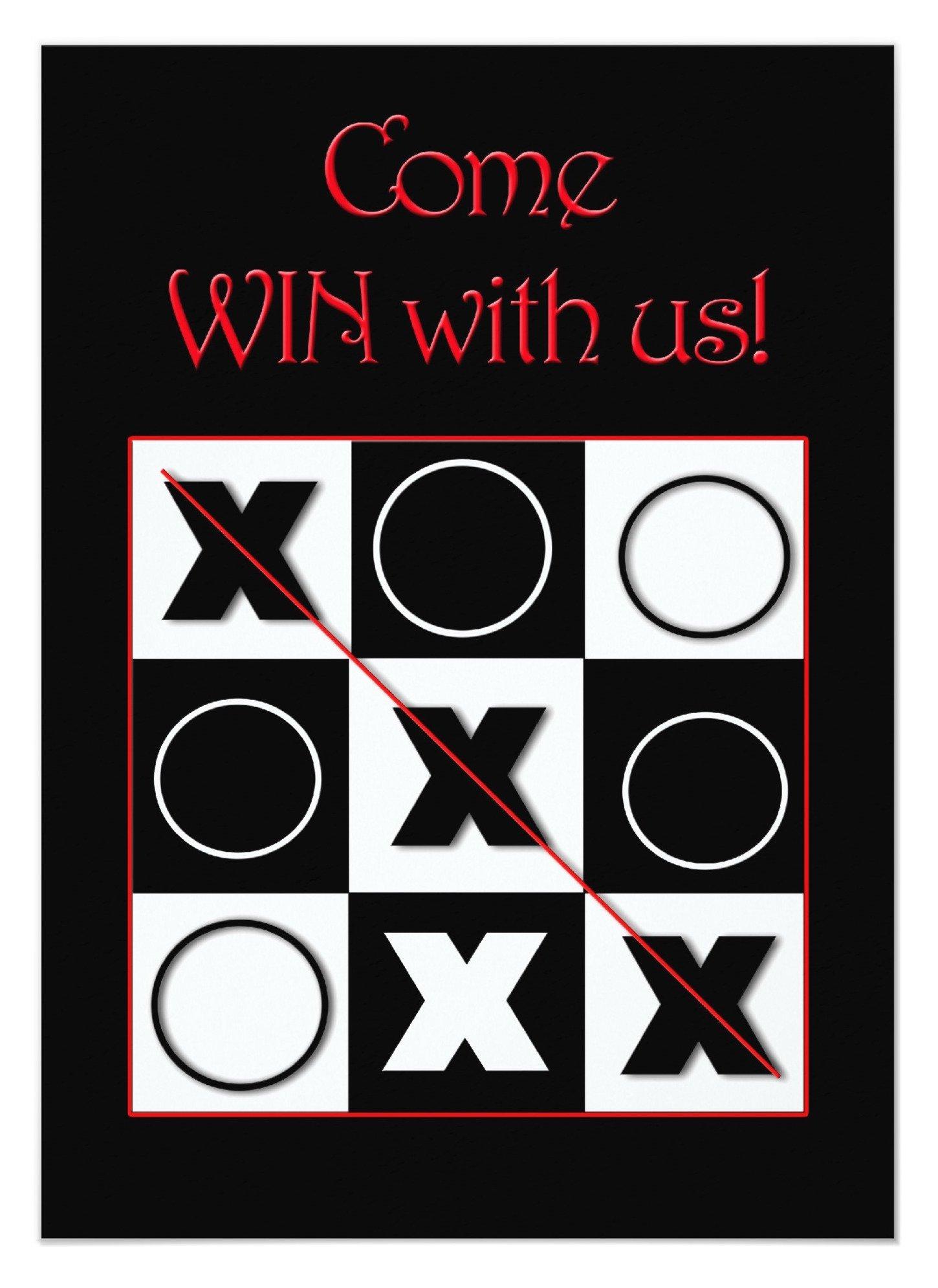 Win with us invitation