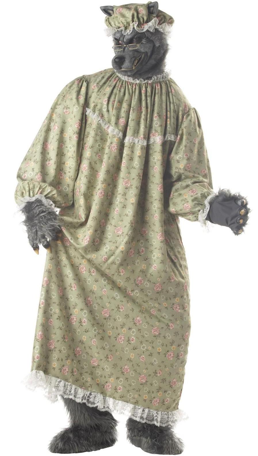 Wolf Granny Halloween Costume