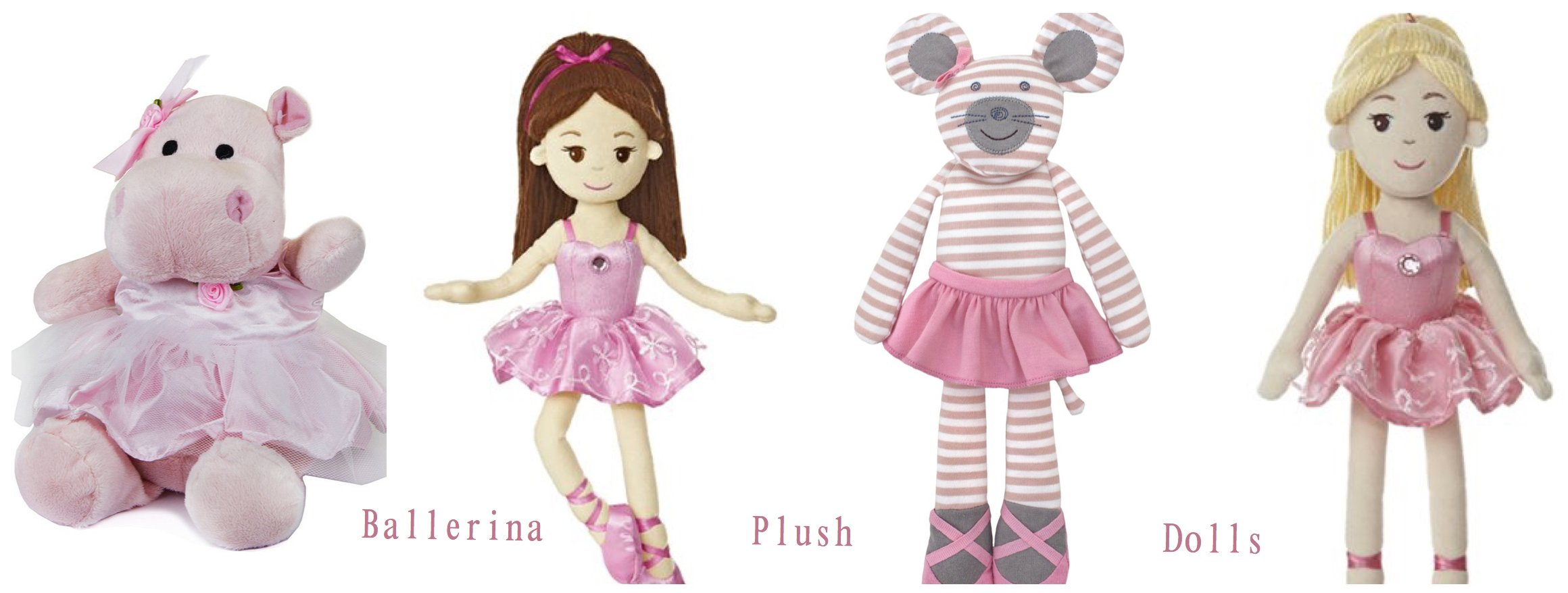 Ballerina Plush Dolls
