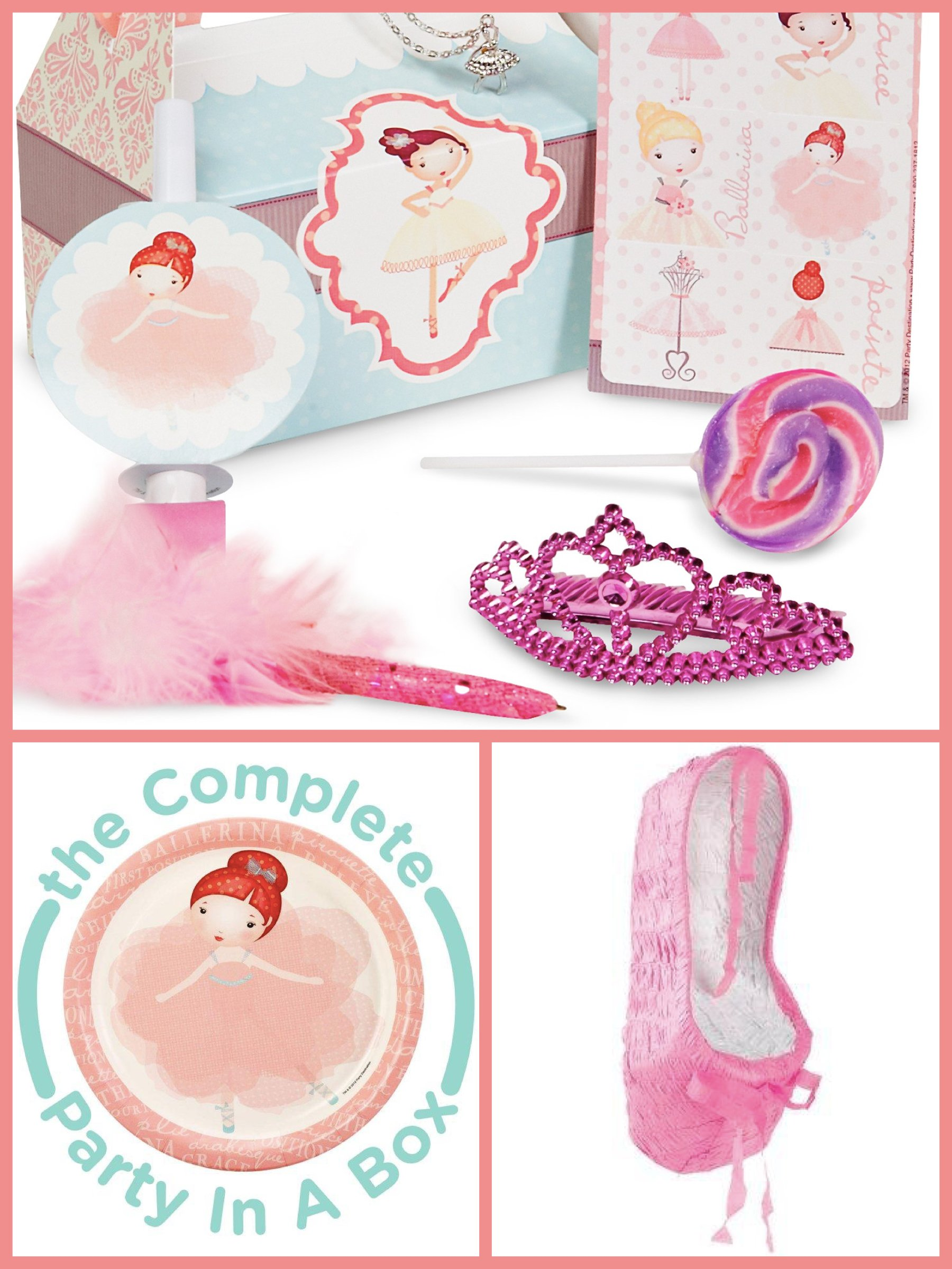 Ballerina Tutu Birthday Party in a Box