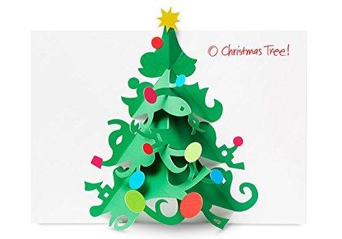 David A Carter O Christmas Tree Boxed Holiday Cards