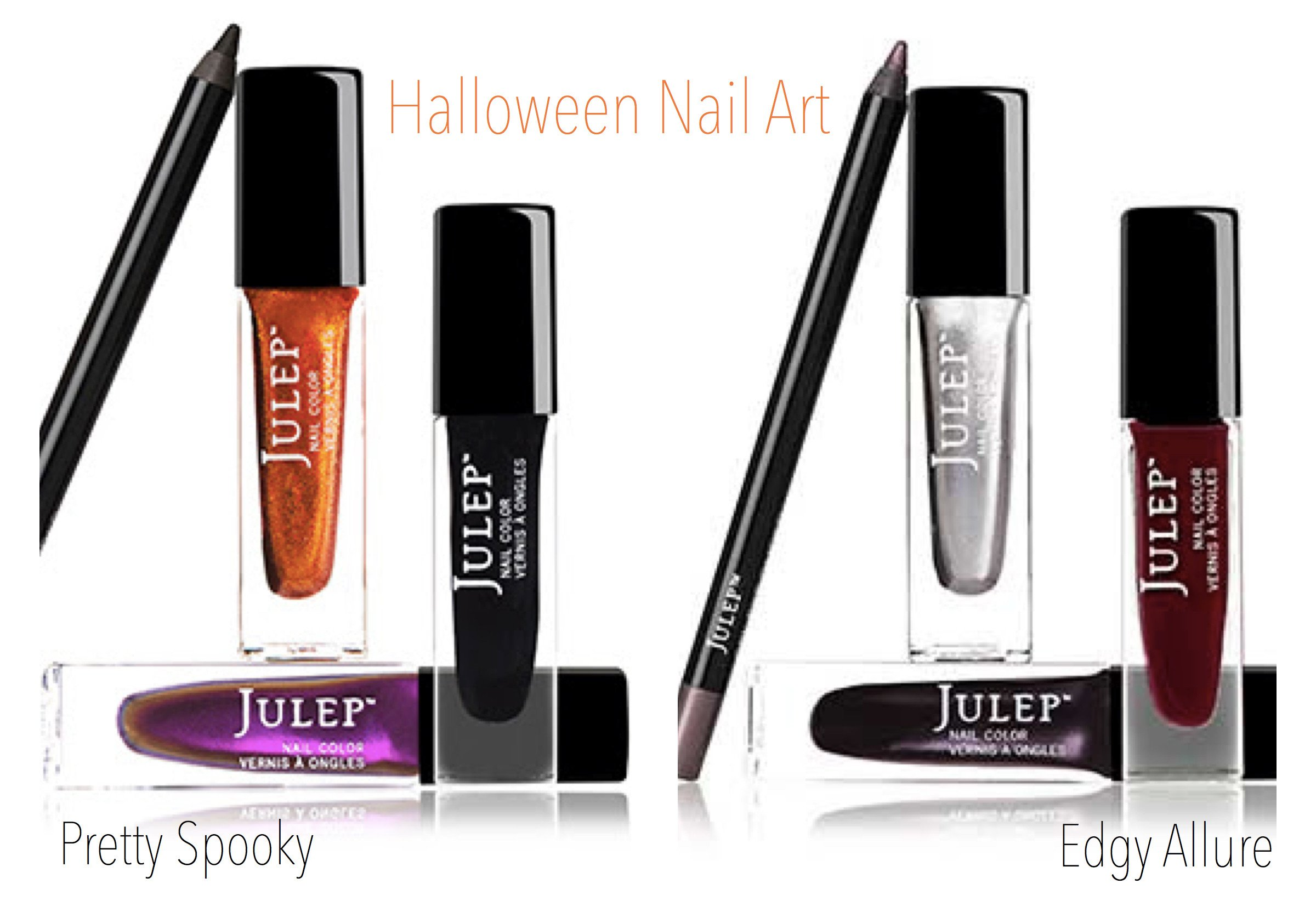 Halloween Nail Art Polish Set
