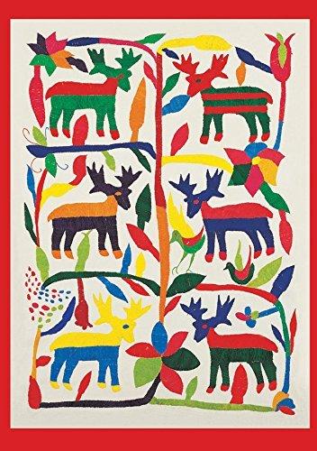 Museum of International Art Otomí Reindeer Embroidery