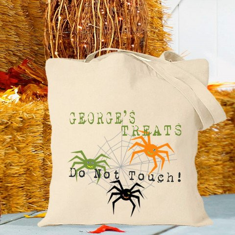 Re-Usable Halloween Trick or Treat Bags