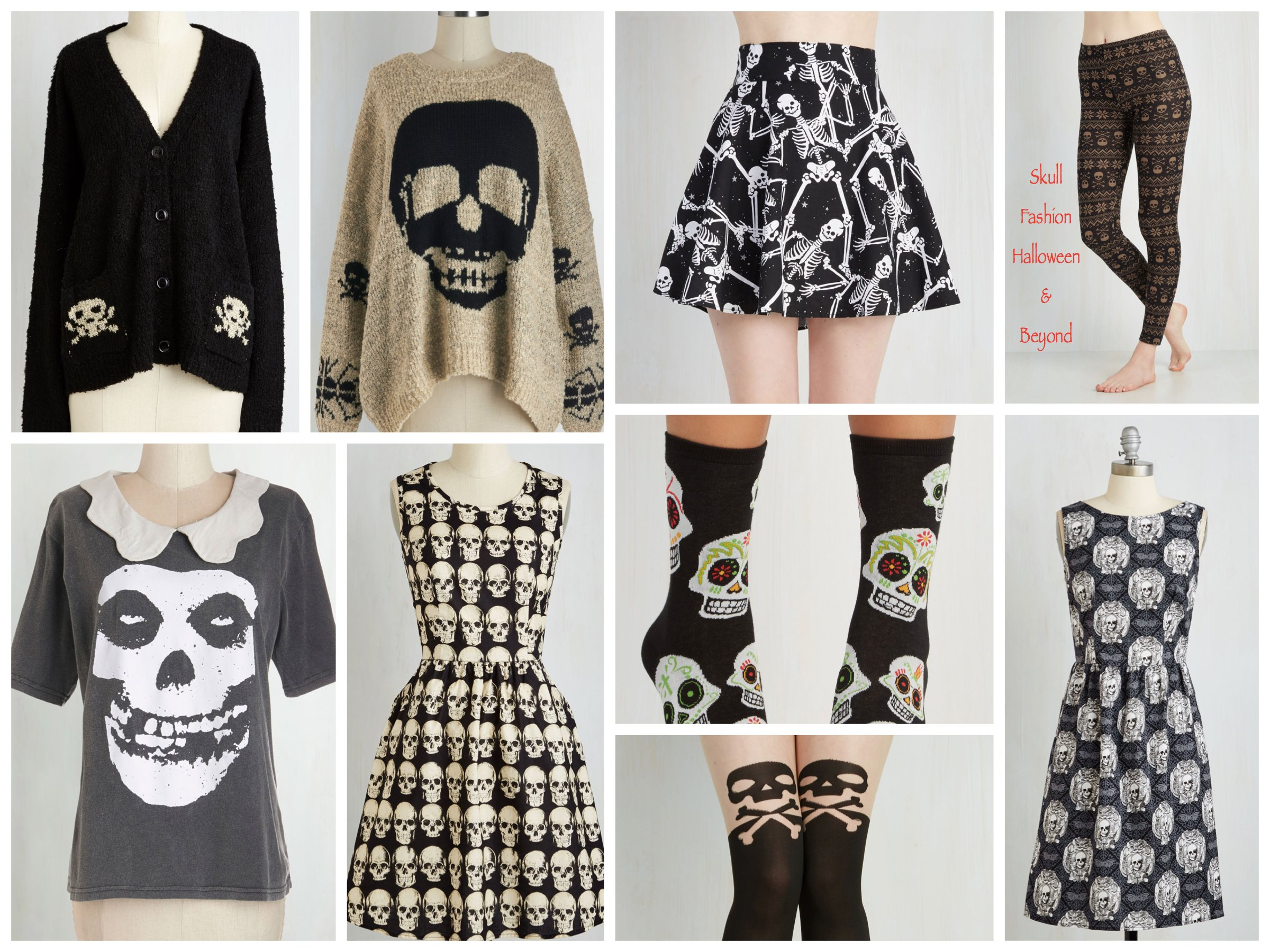 Skull Fashion Halloween and Beyond, Halloween Costume Trend
