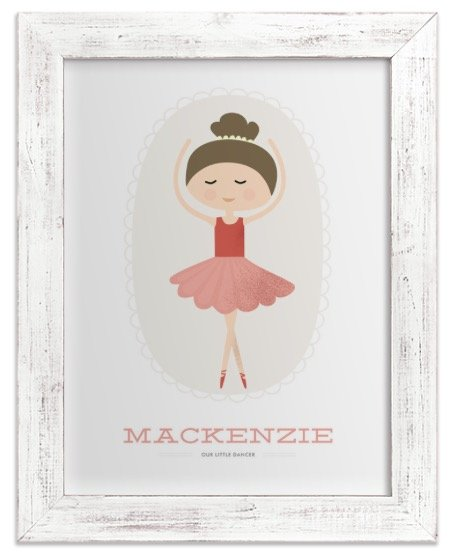 The Ballerina Framed Print