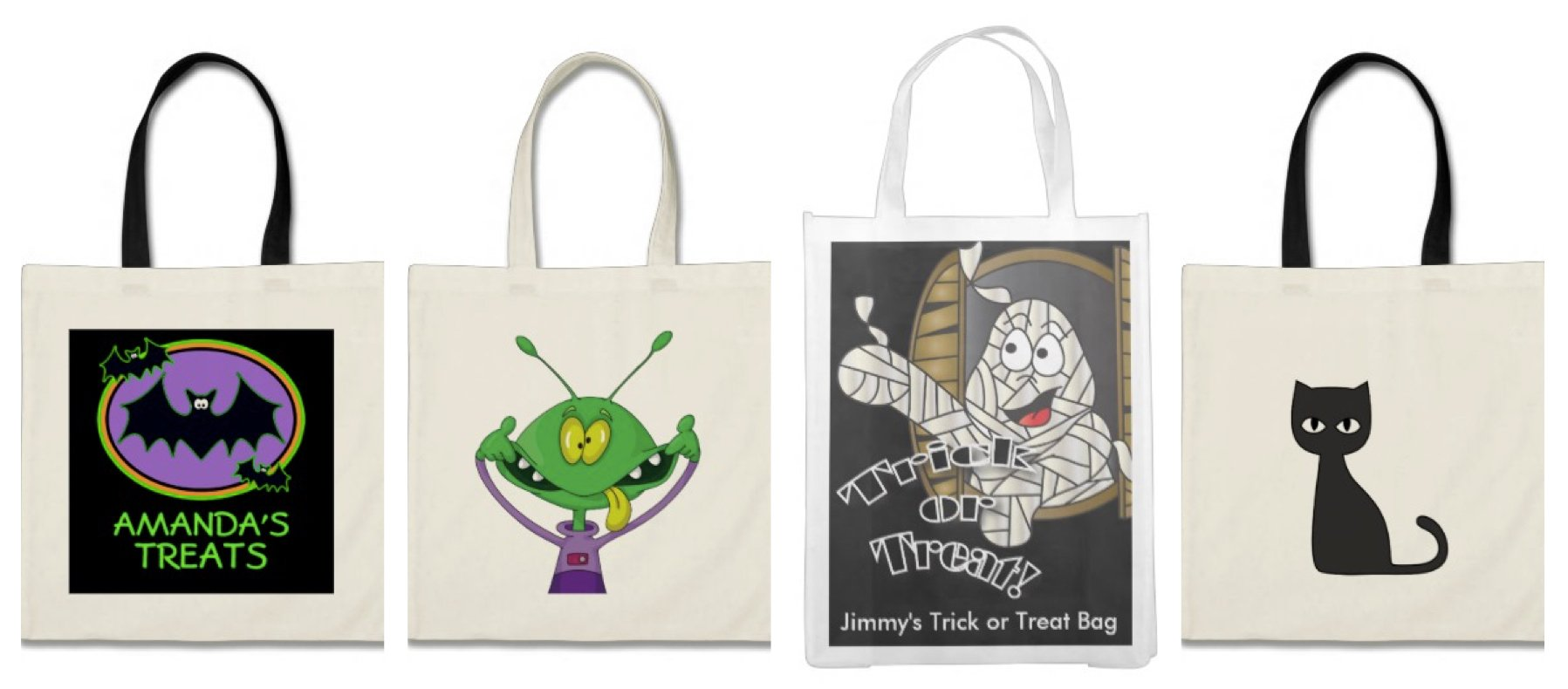 Re-usable Trick-or-Treat Bags