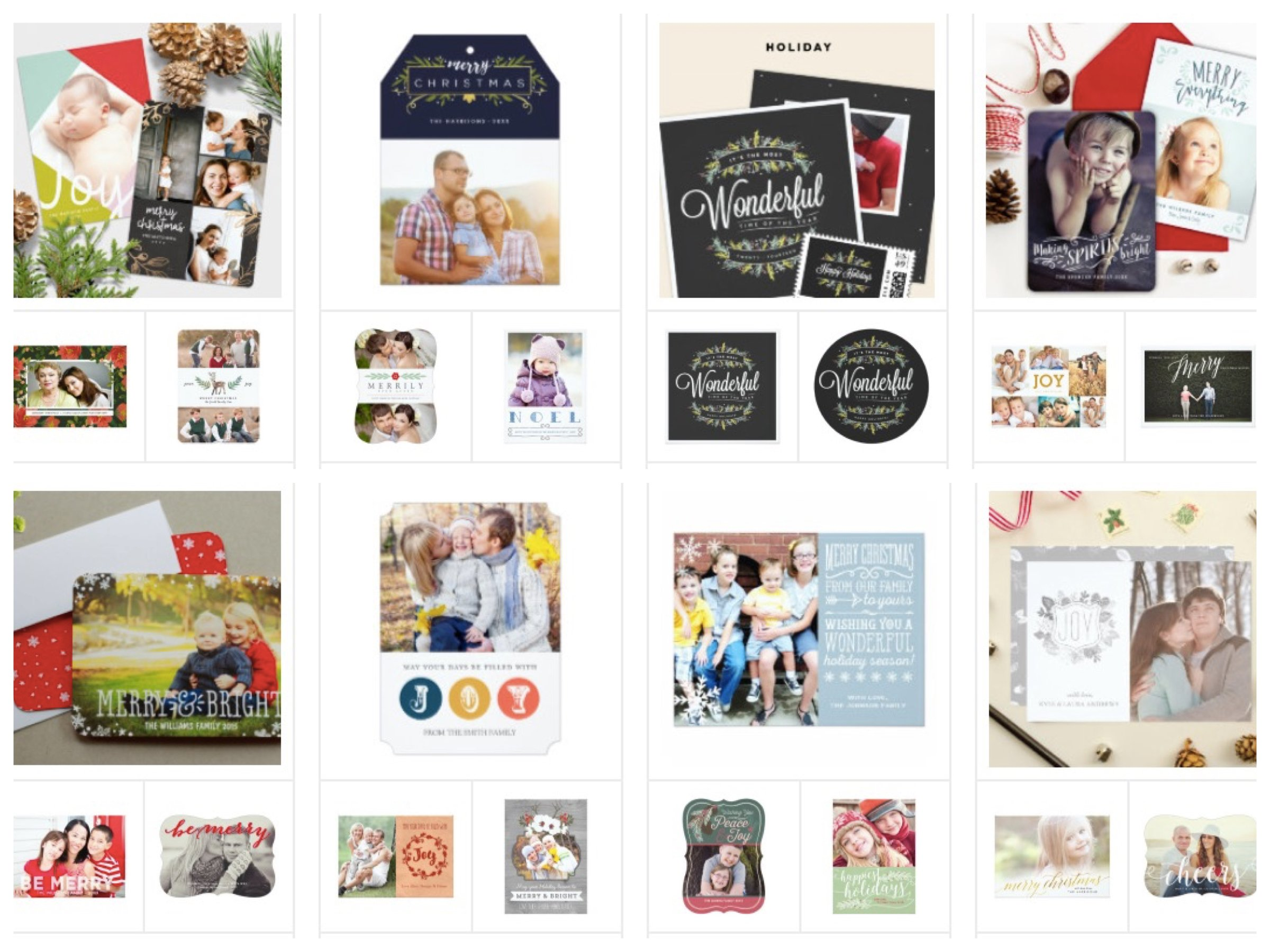 Zazzle Holiday Cards, Holiday Card Winning Designs
