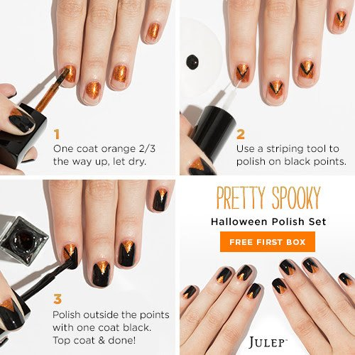 Pretty Spooky Halloween Nail Art Polish Set