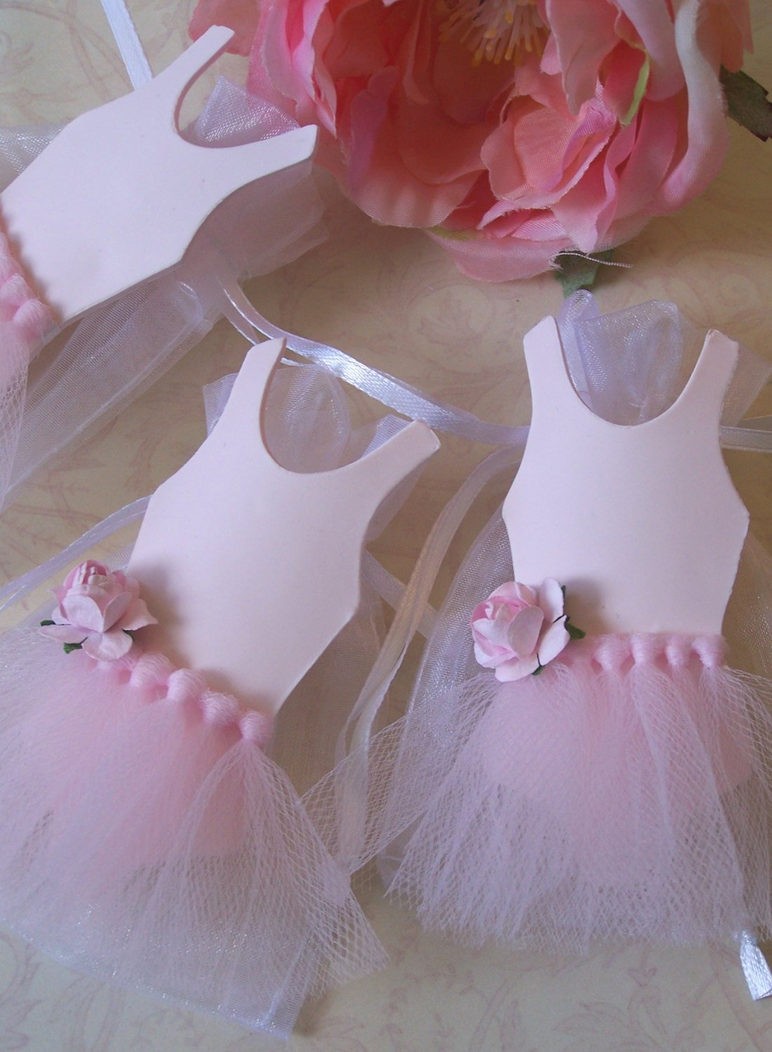Ballerina Birthday Theme Party Favor Bags