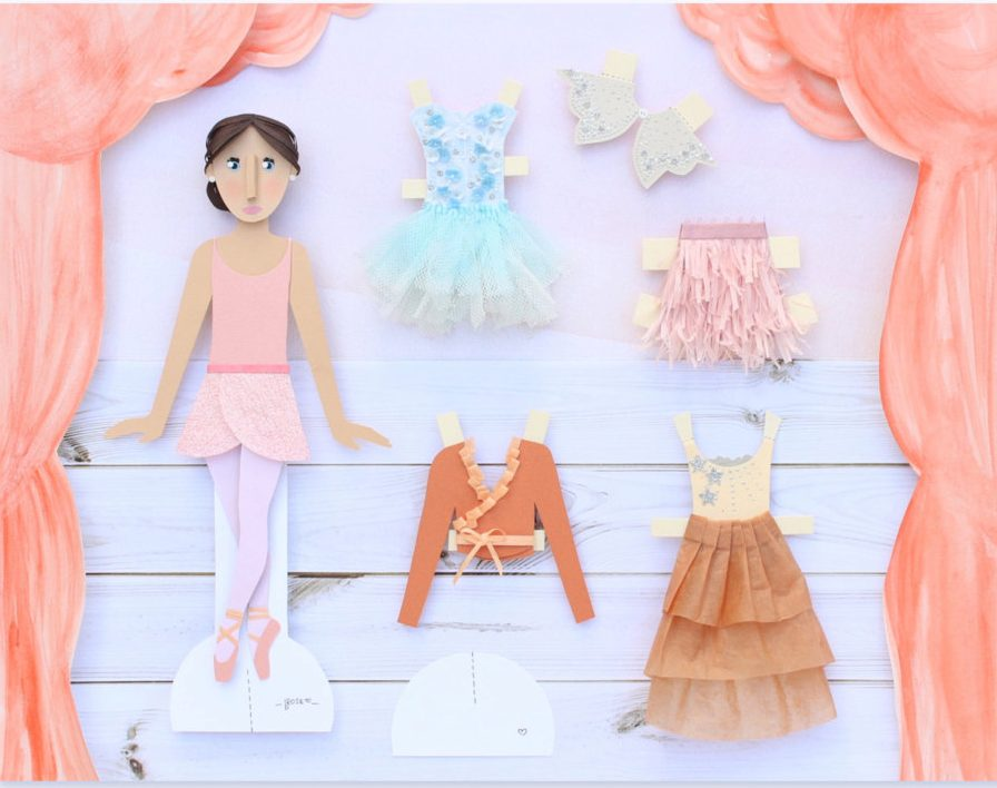 Ballerina Paper Dolls