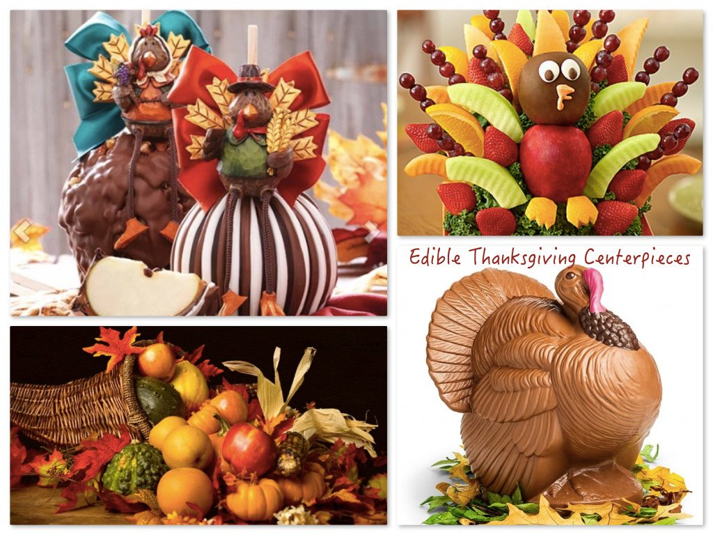 Edible Thanksgiving Centerpieces