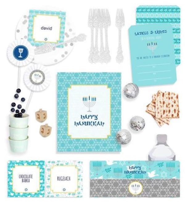 Hanukkah Party Planning and Supplies