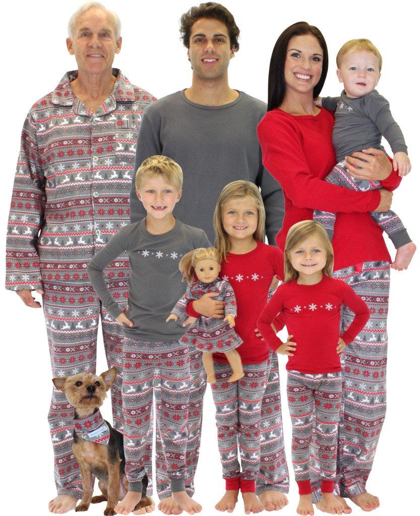Pajama Christmas Party Ideas Part - 36: Return To Nordic Family Matching Christmas Pajamas