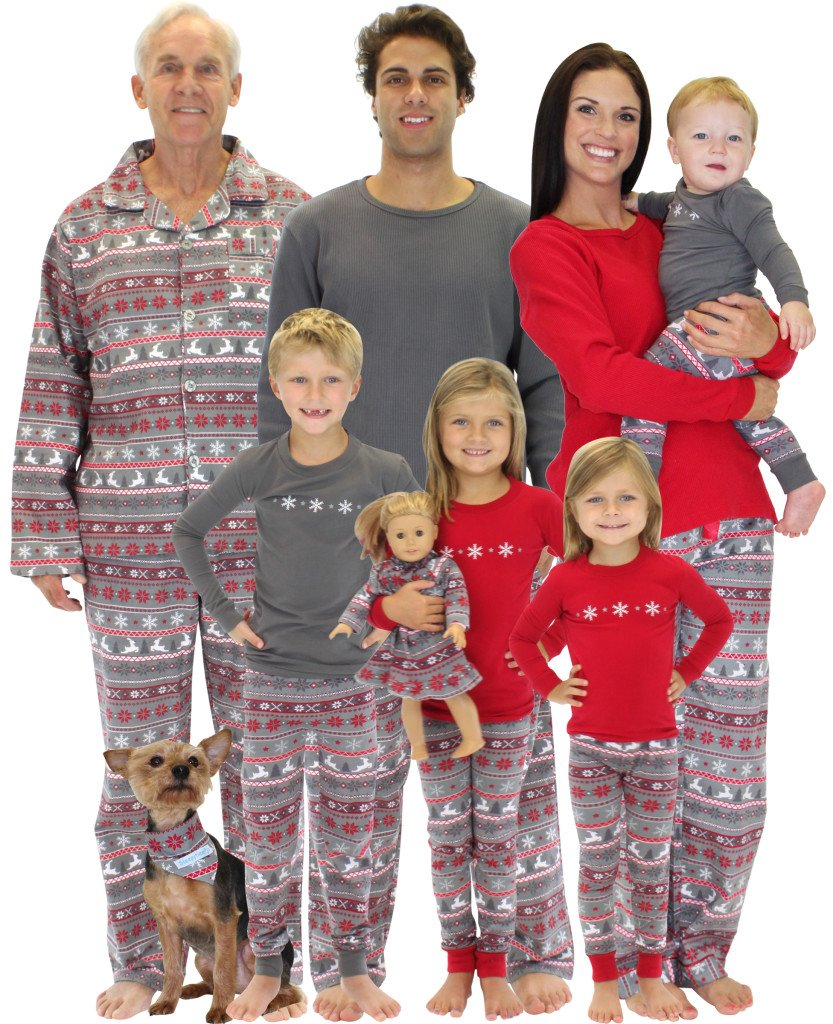 SleepytimePjs Nordic Family Matching Christmas Pajamas