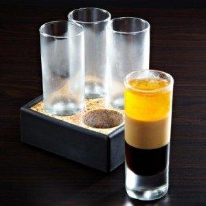 Stone-Cold Shot Glass & Granite Chiller Set