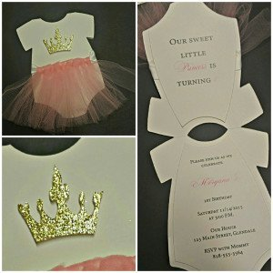 Sweet Ballerina Invite