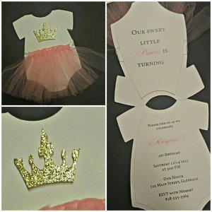Sweet Ballerina Invite