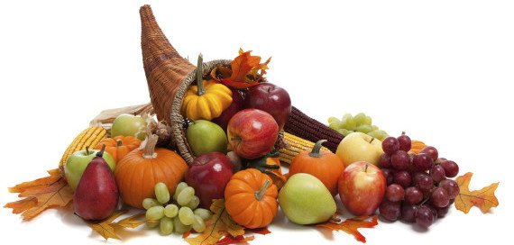 DIY Thanksgiving Cornucopia, Edible Thanksgiving Centerpieces