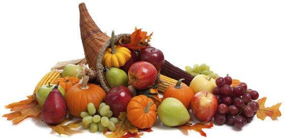 DIY Thanksgiving Cornucopia, Edible Thanksgiving Centerpieces