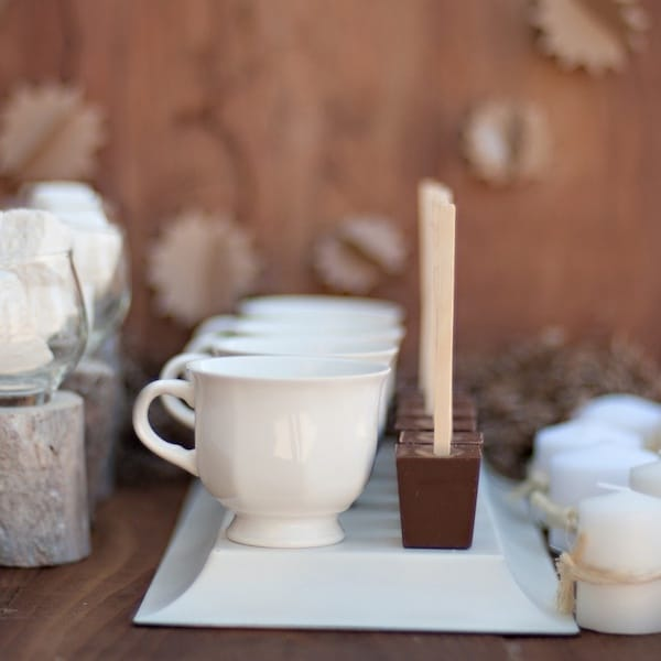 Hot Chocolate on a Stick for your Hot Chocolate Bar