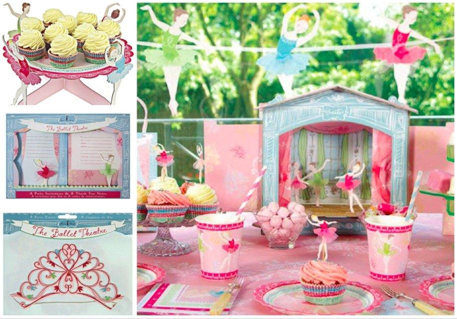 Mari Meri Little Dancers Party Supplies