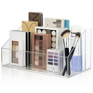 Clear Plastic Makeup Organizer
