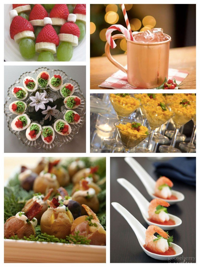 Festive Easy to Make Holiday Party Snacks