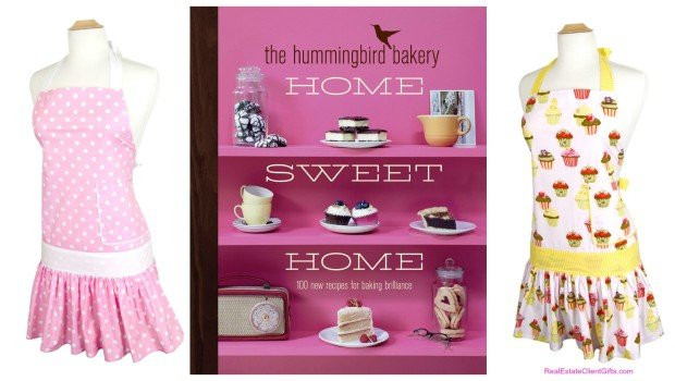 Holiday Gift for Women Aprons and Cookbooks