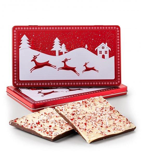 Holiday Peppermint Bark Tin