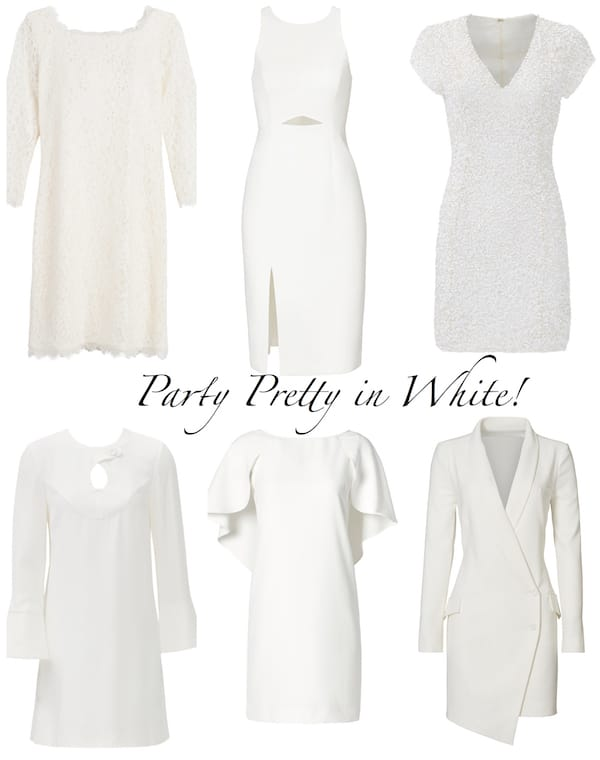 Party Pretty in White