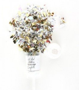 Push-Pop Confetti - Metallic