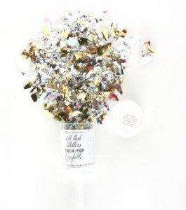 Push-Pop Confetti - Metallic