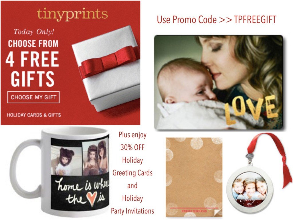 Tiny Prints 30% OFF Plus Free Gift Promotion