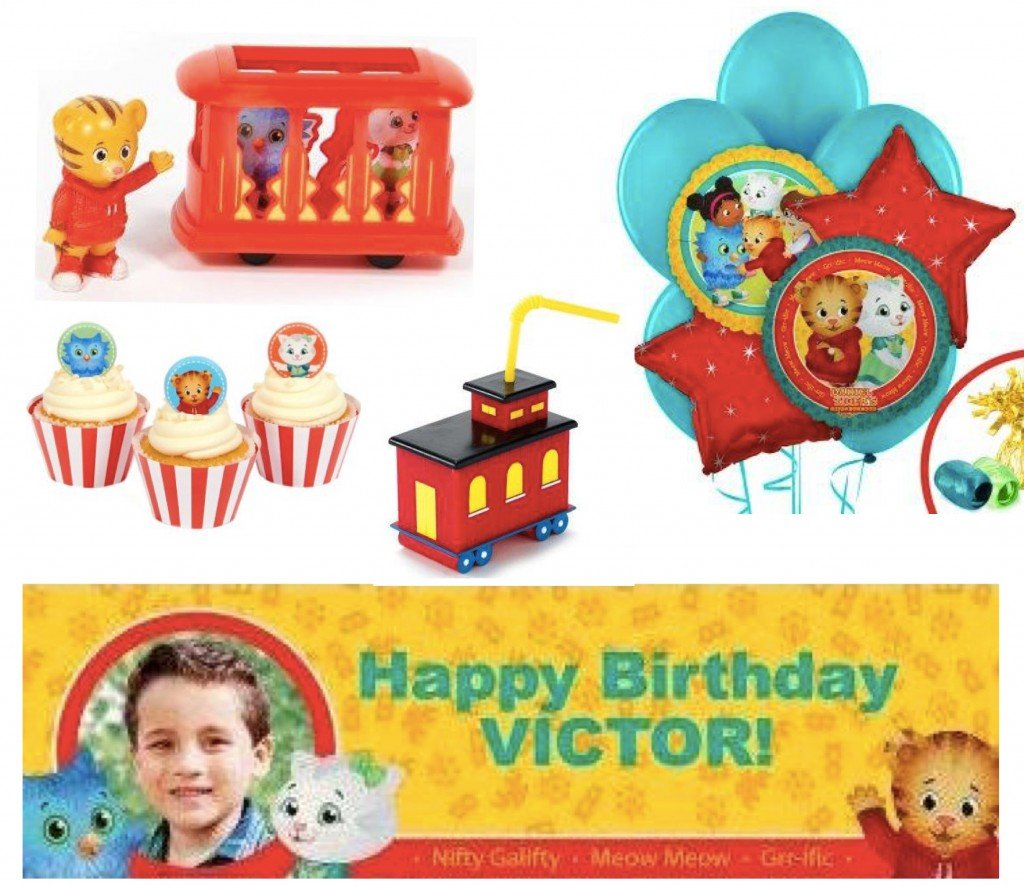 Daniel Tiger Birthday Party Decorations