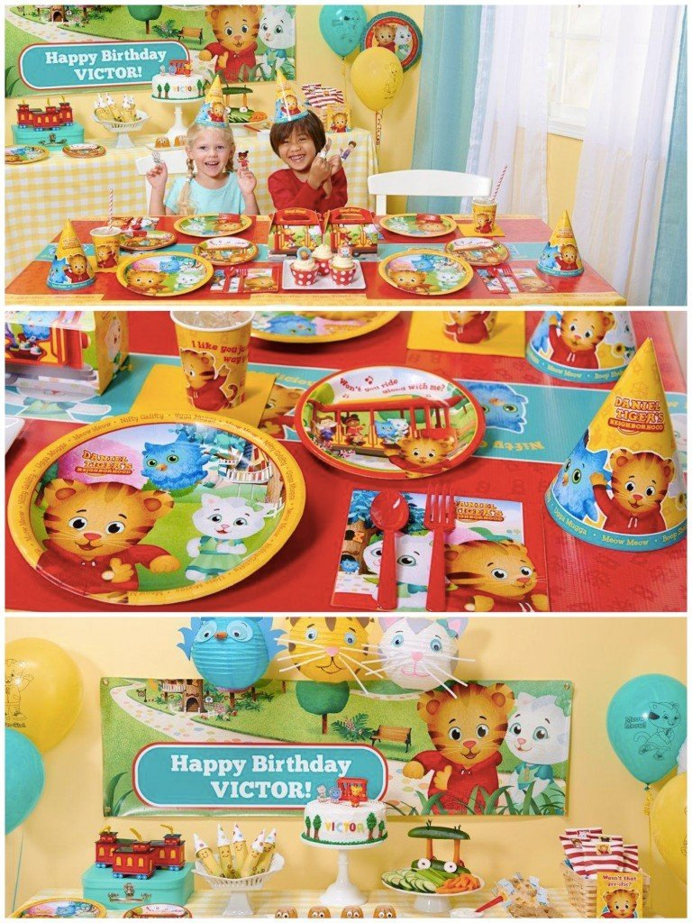 Daniel Tigers Neighborhood Birthday Party Planning Ideas & Supplies, Daniel Tiger Birthday Party
