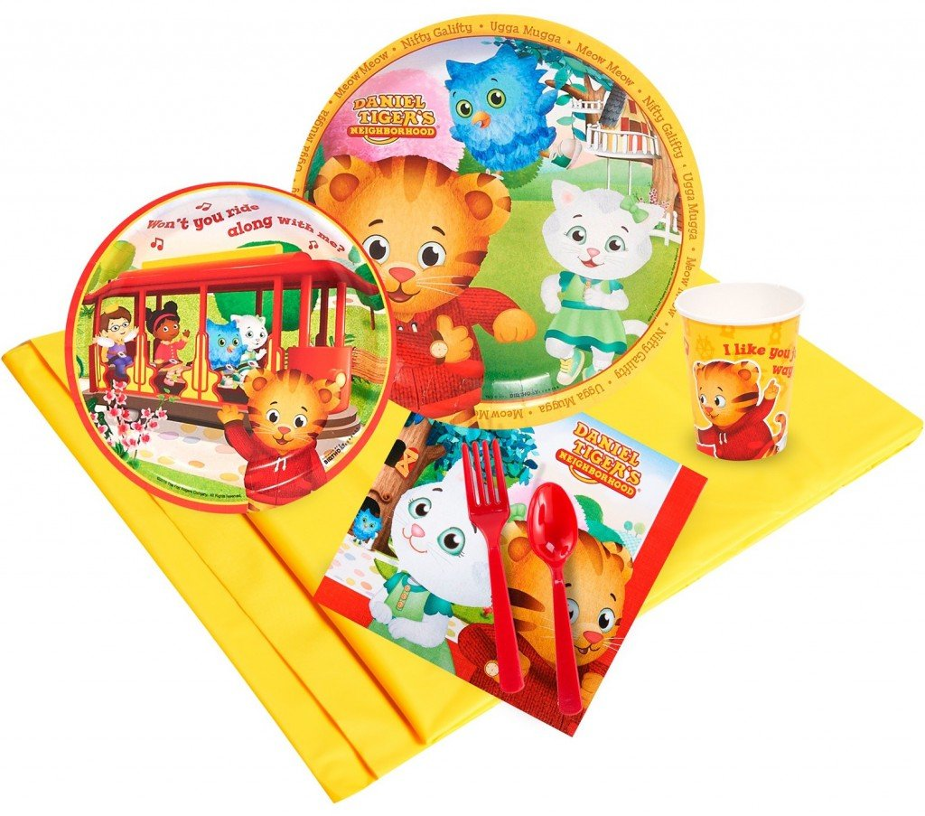 Daniel Tiger Birthday Party Pack