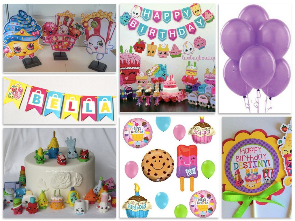 Shopkins Birthday Party Decorations