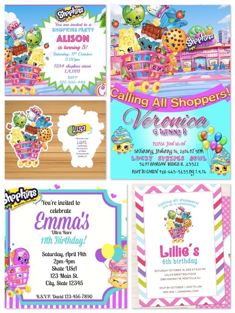 Shopkins Birthday Party Planning Ideas & Supplies | Theme Parties ...
