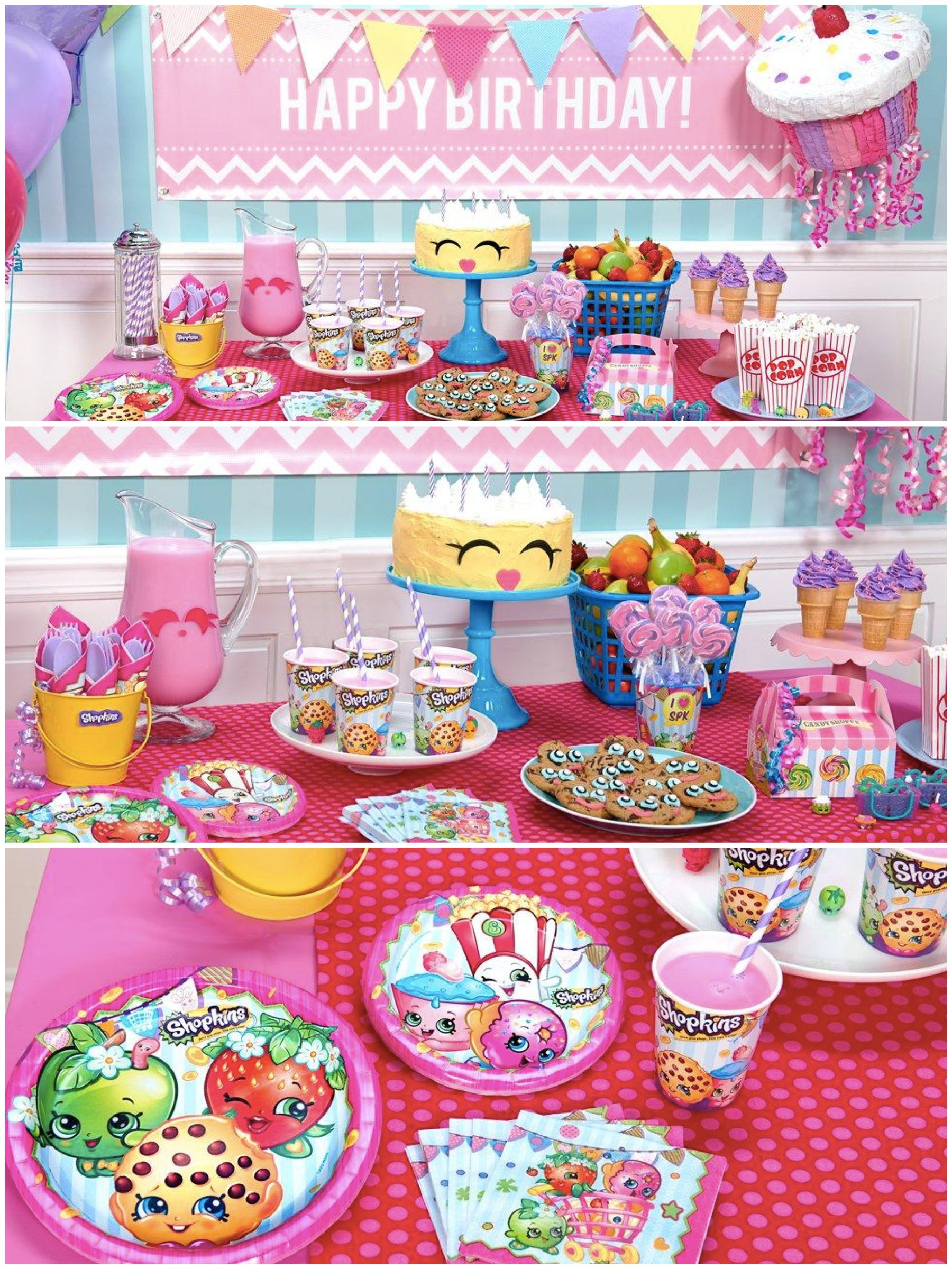 Shopkins birthday party planning ideas supplies theme - Th birthday themes ideas ...