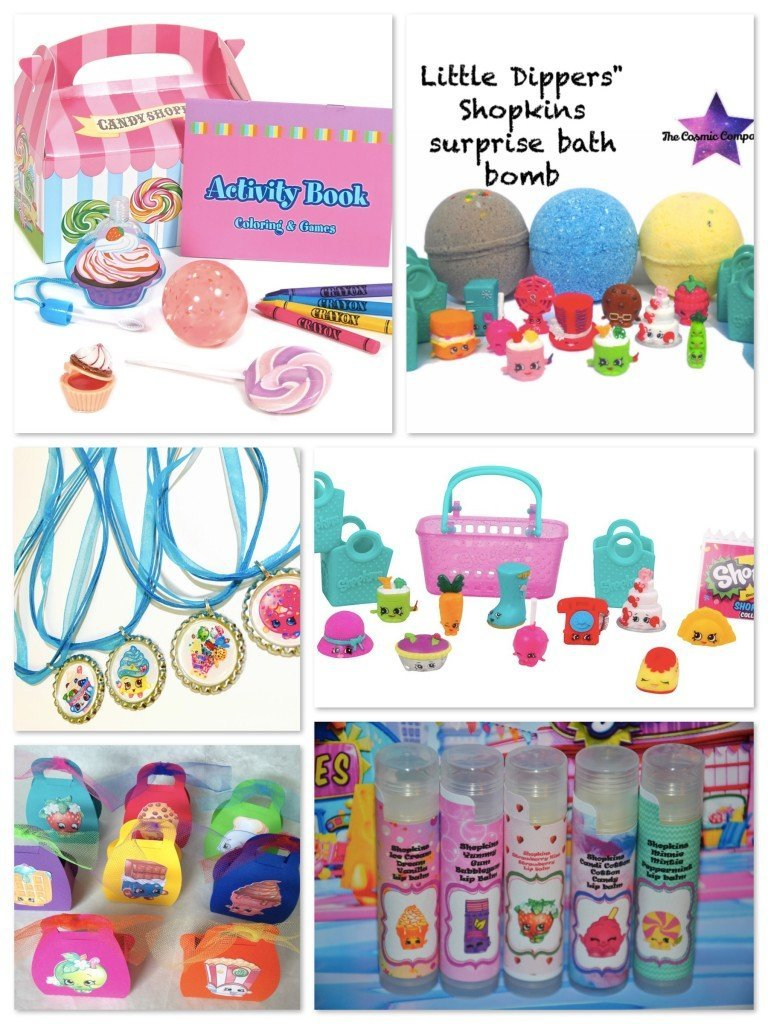 Shopkins Birthday Party Favors