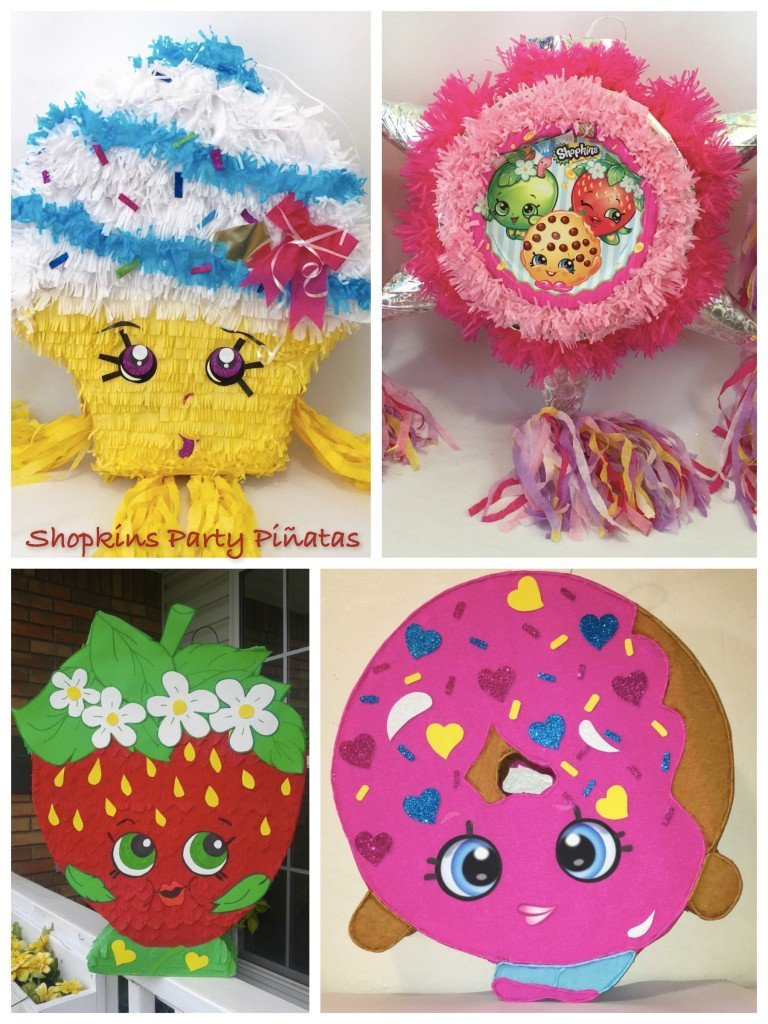 Shopkins Party Pinatas