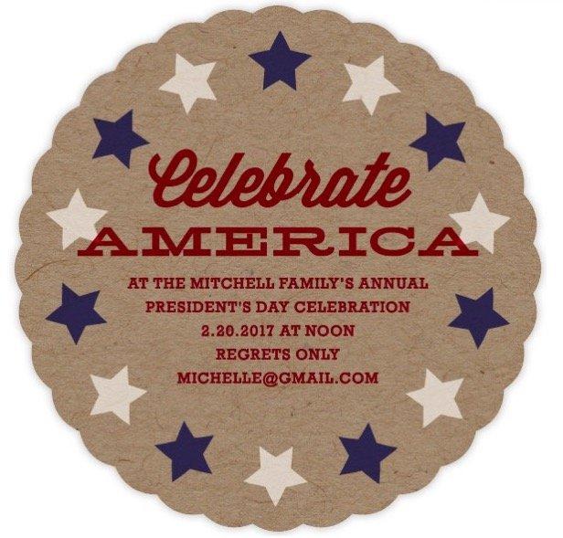 The Patriot Party Invitation