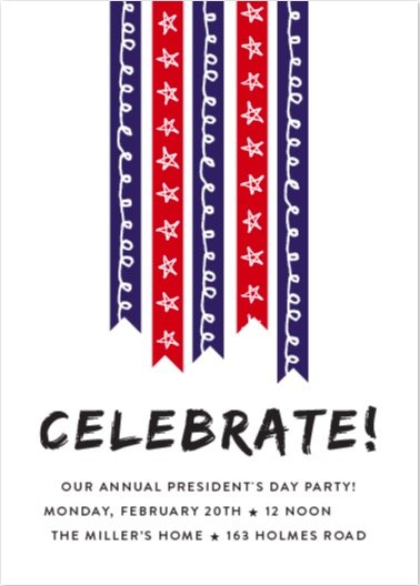stars and stripes online invitations
