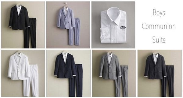 Boys Communion Suits