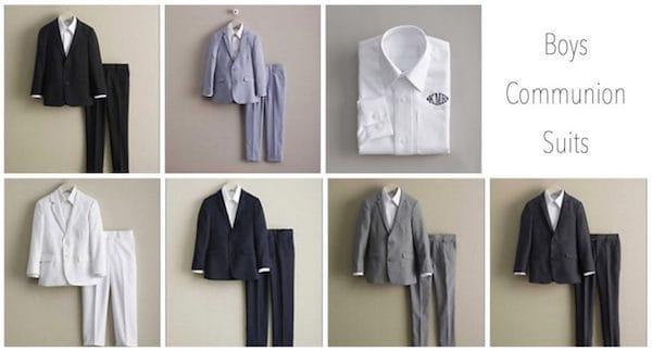 Boys Communion Suits