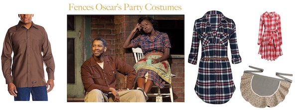 Fences Oscar Party Costumes