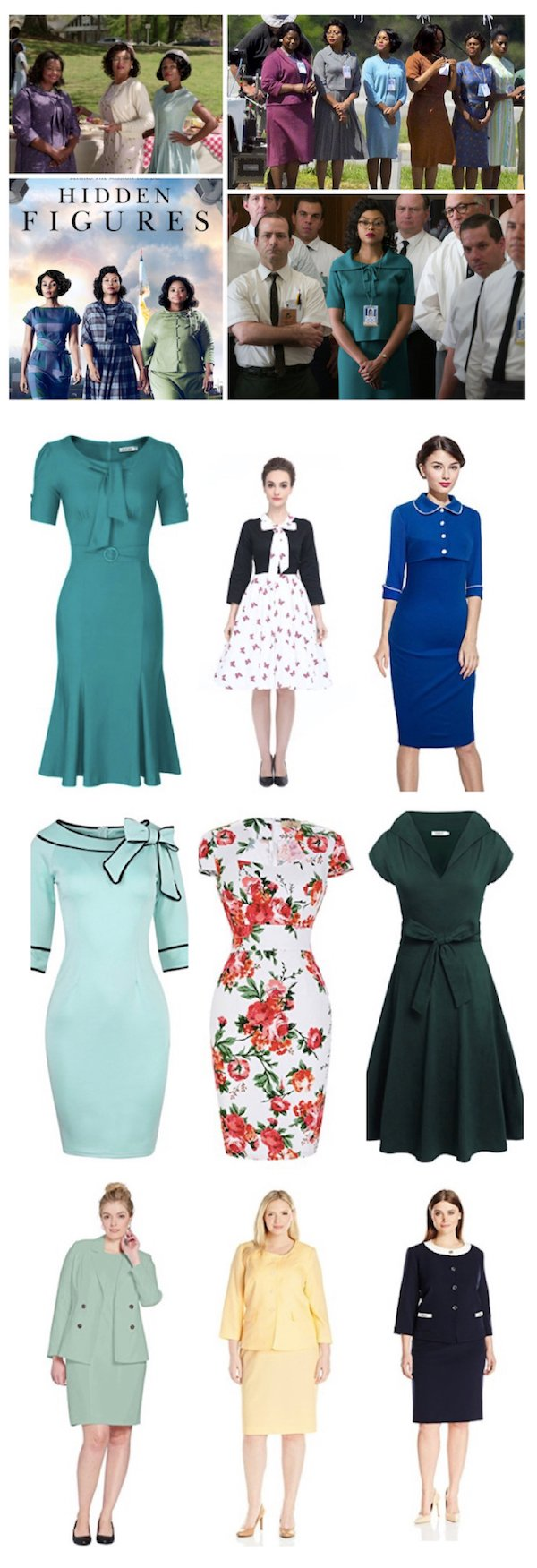 Hidden Figures Costume Ideas