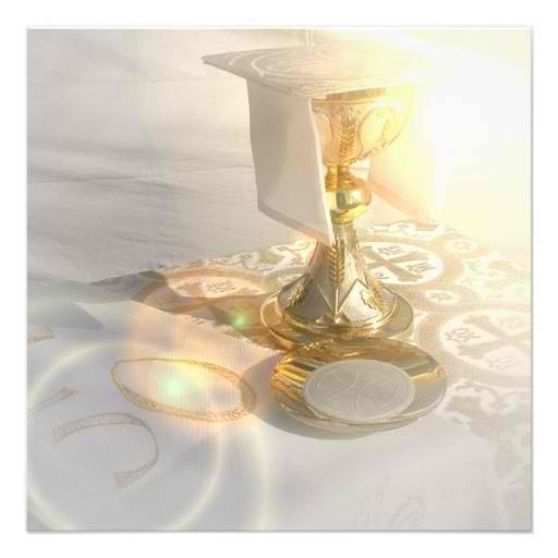 Holy Communion Invitations, Tableware, Apparel & Gifts ...