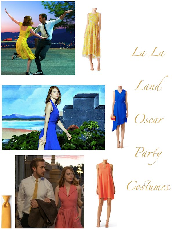 La La Land Oscar Party Costumes